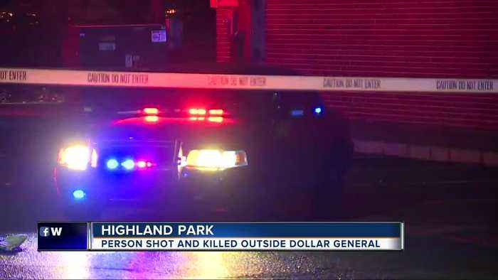 Police investigate deadly shooting outside Highland Park Dollar General