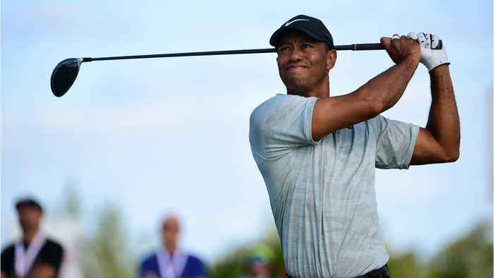 Tiger Woods Plays Through Ankle Pain At Hero World Challenge