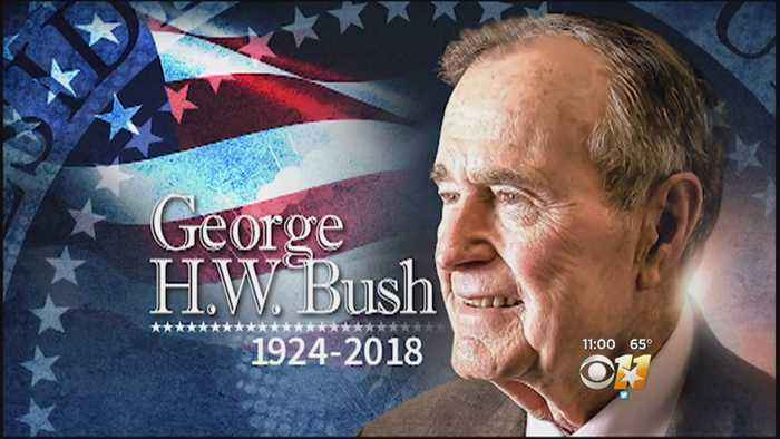 Remembering 41: George H.W. Bush Loved By Many As 41st President Of US