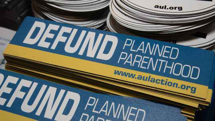 GOP Giving Up On Making Cuts To Planned Parenthood