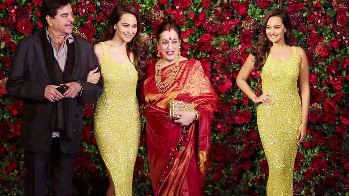 Deepika - Ranveer Reception: Sonakshi Sinha arrives with Family for party | FilmiBeat