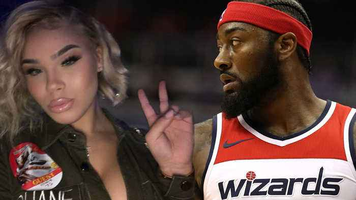 John Wall Flies Secret Side Chick Out To Game As Pregnant Baby Momma Sits At Home