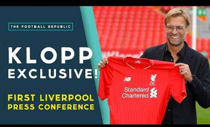 KLOPP: 'Liverpool will win title within 4 years'   Press Conference EXCLUSIVE!