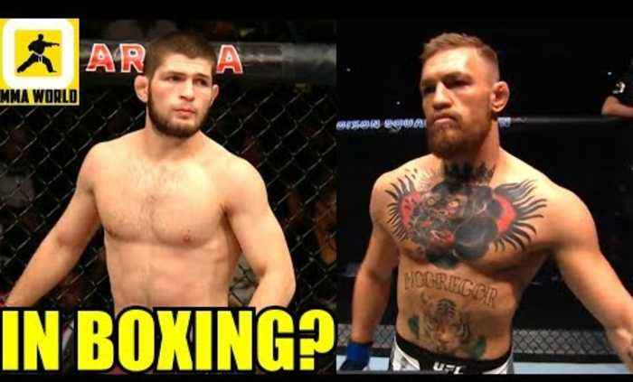 Khabib vs Conor McGregor Rematch inside a Boxing Ring? Khabib's Dad is interested,Iaquinta on Lee