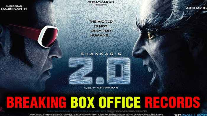 Rajinikanth And Akshay Kumar's Film ROBOT 2.0 RECORD BREAKING BOX OFFICE Collection