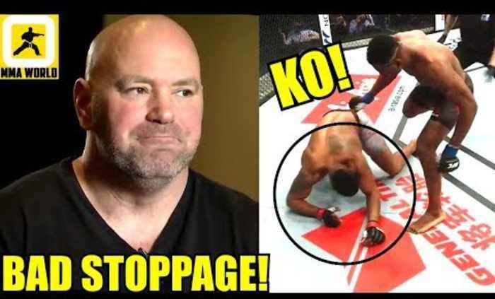Dana White not impressed with Francis Ngannou vs Curtis Blaydes Knockout stoppage,Overeem on Lewis