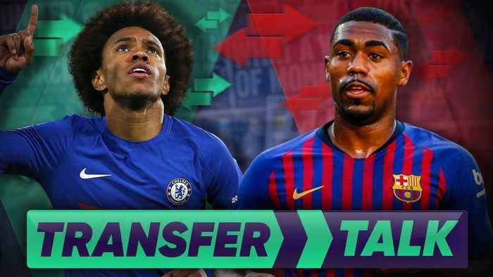 Chelsea To Swap Willian For Barcelona's Malcom?! | Transfer Talk
