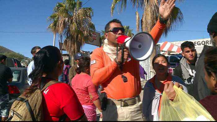 Tijuana: Hope is fading for Central American asylum seekers