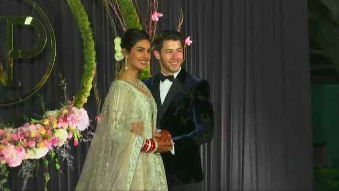 Priyanka Chopra, Nick Jonas celebrate wedding in New Delhi