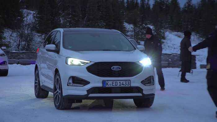 The new Ford Edge - On the edge of the world
