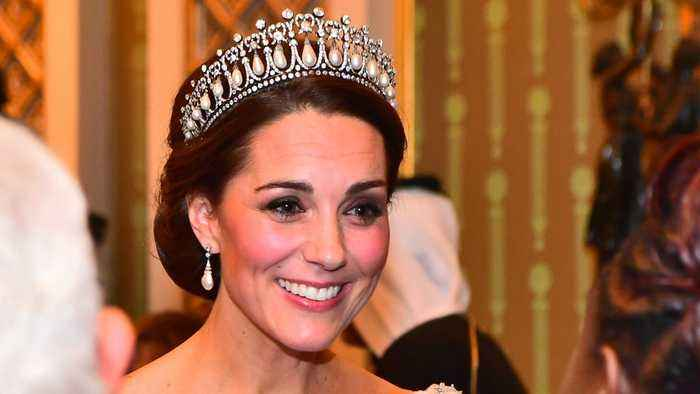 Kate Middleton Wowed In A Bespoke Fairy Tale Like Ballgown