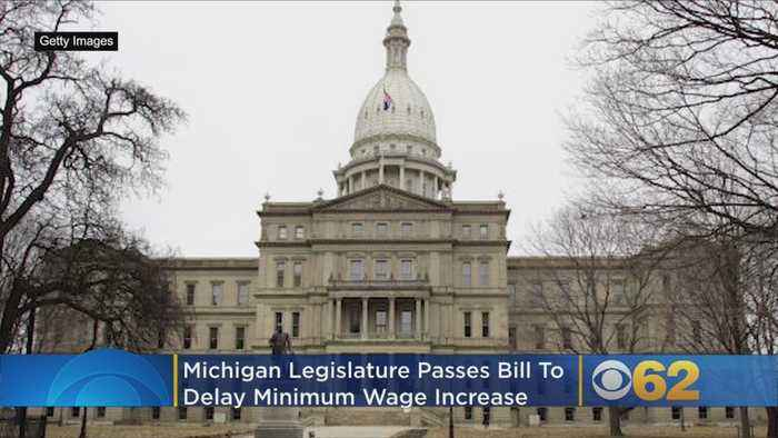 Michigan Republicans Vote To Delay Minimum Wage Increase, Change Paid Sick Time Laws