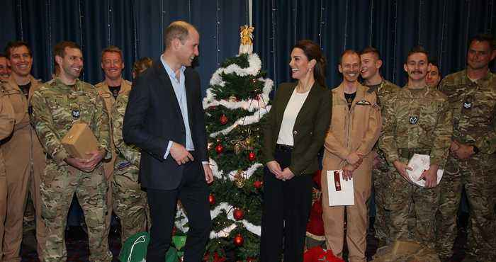 Kate Middleton and Prince William Celebrate Military Families with Sweet Palace Christmas Party