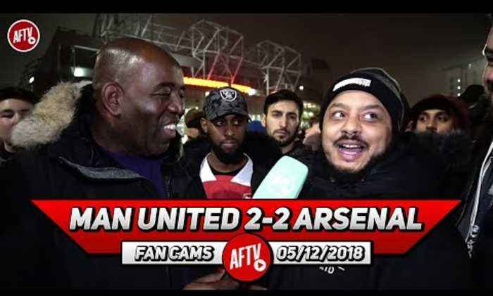 Man United 2-2 Arsenal | Their 2nd Goal Was An Absolute Joke!! Mistakes Cost Us! (Troopz)