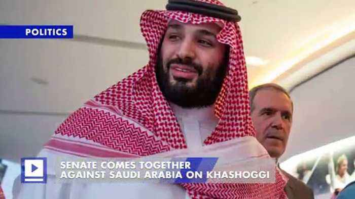 Senate Comes Together Against Saudi Arabia on Khashoggi