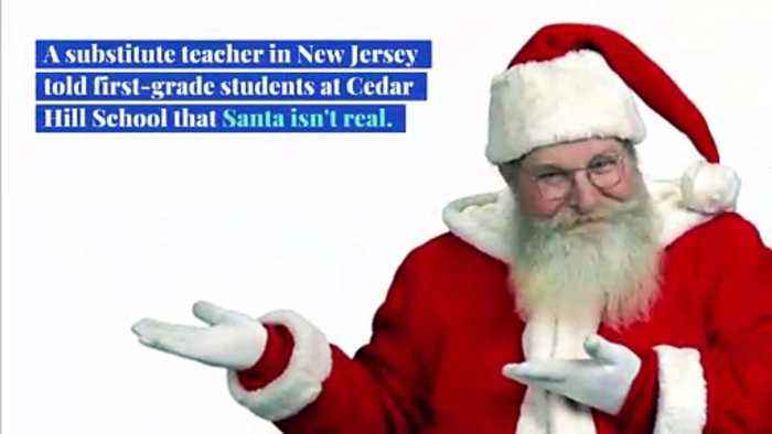 Teacher Not Allowed to Return to School After Telling Kids Santa Isn't Real