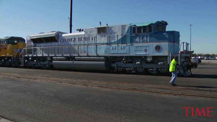 George H.W. Bush's Presidential Funeral Train Will Be the First in Nearly 50 Years