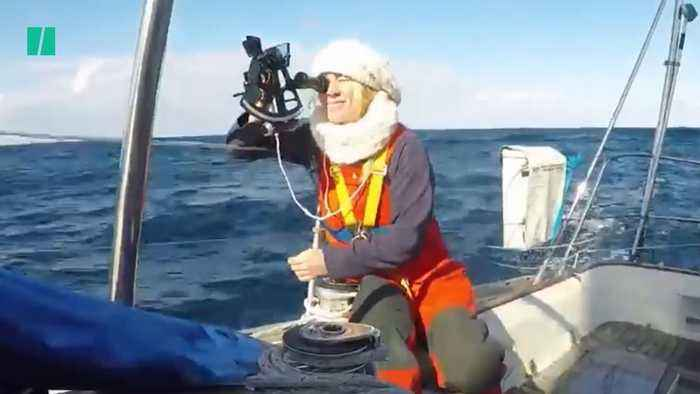 British Sailor Stranded After Severe Storm