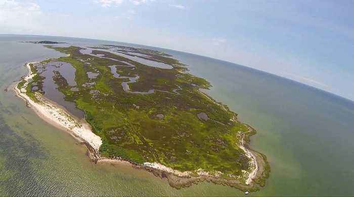 Can Tangier Island be first climate change casualty in the US?