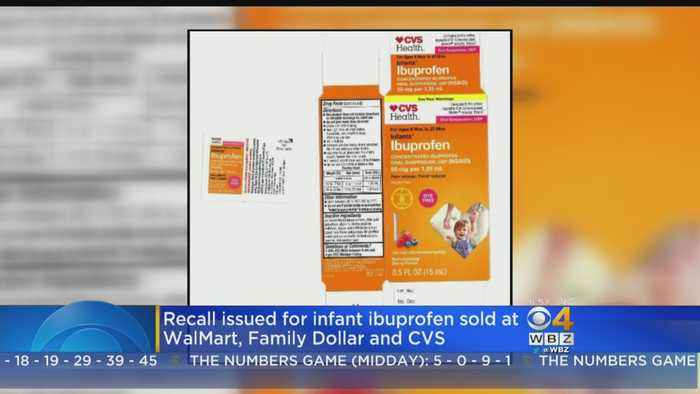 Infant Ibuprofen Sold At CVS, Walmart, Family Dollar Recalled