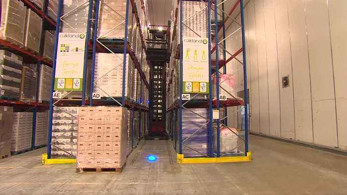 Brexit sparks race for warehouse space in Britain