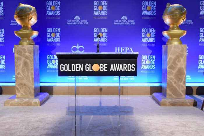 76th Golden Globes Nominations Are Announced