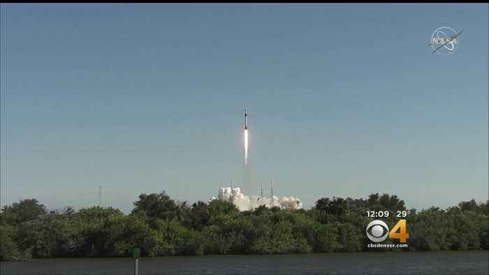 Lakewood High Students See Experiment Go Up In Space