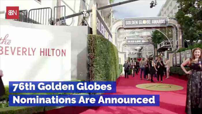 The Golden Globe Nominees Are ...