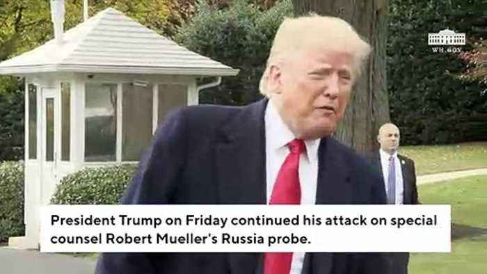 Trump Launches Extraordinary Attack Against Rosenstein, Mueller, Comey In Friday Morning Tweets