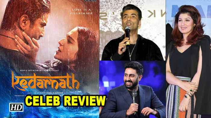 KEDARNATH Celebs REVIEW | Sushant - Sara LOVE STORY