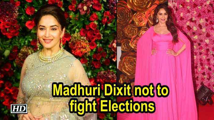 Madhuri Dixit not to fight Elections