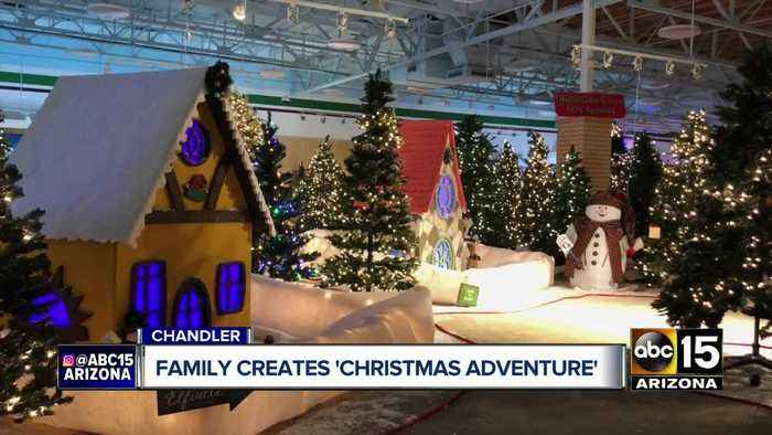 Arizona couple opens 'Christmas Adventure' attraction in Chandler