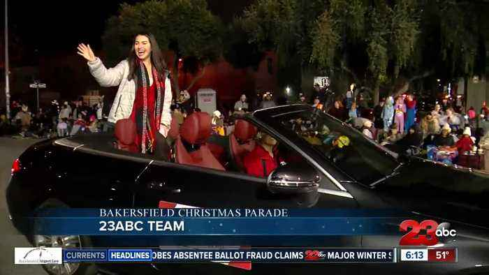Team 23 in the Bakersfield Christmas Parade