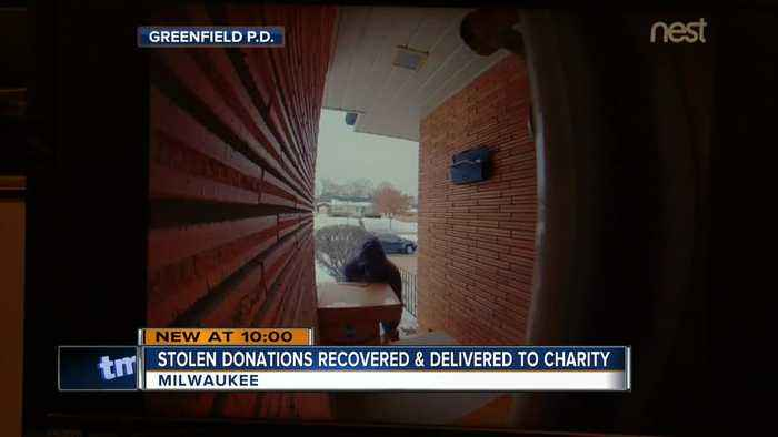 Porch pirate stole items meant for charity; some gifts returned after arrest