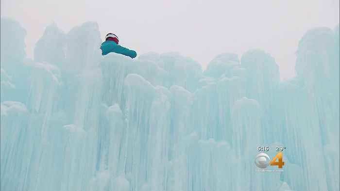 Ice Castles Taking Shape Thanks To 'Ice Farmers'