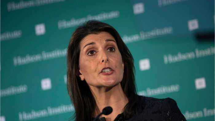 WIth Nikki Haley Leaving UN Post, Who's Up Next
