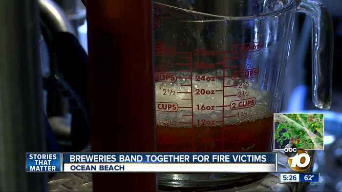 Breweries band together to help California fire victims