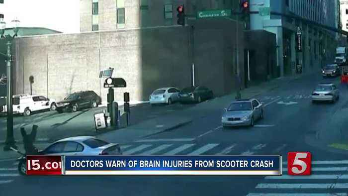 Scooter injuries can cause long-term effects