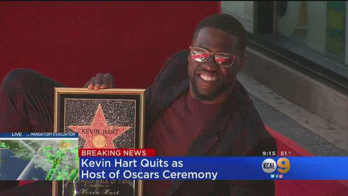 Kevin Hart Steps Down As Oscars Host After Outcry Over Anti-Gay Tweets