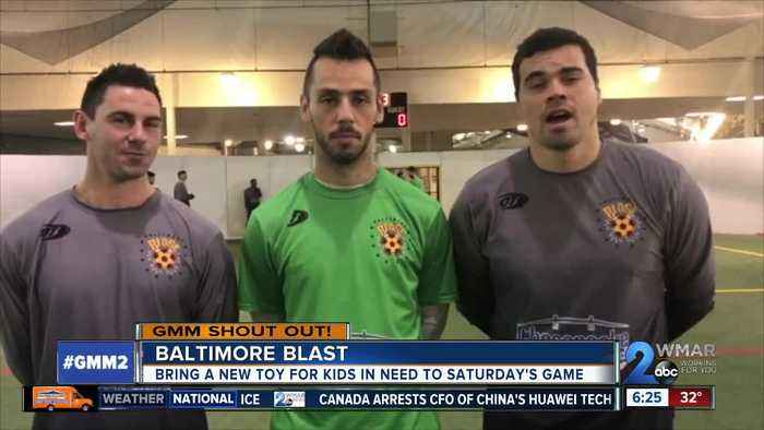 Good morning from the Baltimore Blast!