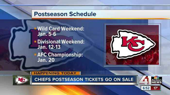 Chiefs postseason tickets on sale to general public Friday