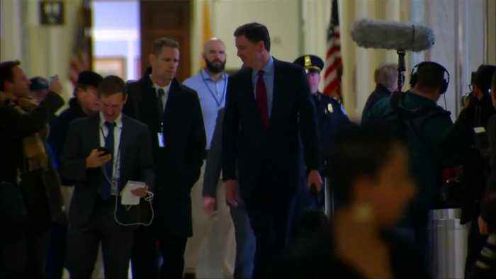 Comey arrives to testify in House GOP probe