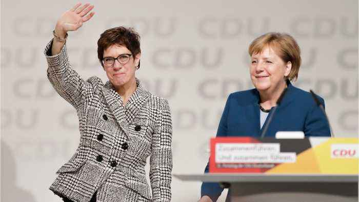 German CDU Elects Kramp-Karrenbauer As New Party Leader