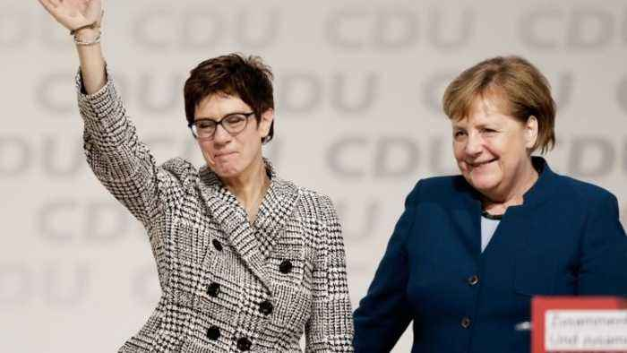 Annegret Kramp-Karrenbauer to Replace Merkel as CDU Chair