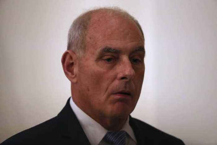 Chief of Staff John Kelly Is Expected to Resign