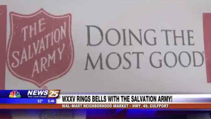 WXXV rings the bell with the Salvation Army