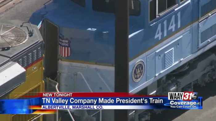 TN Valley company made President's train
