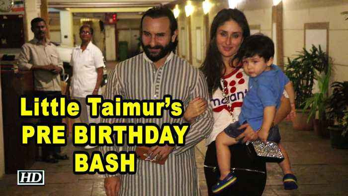 Little Taimur's PRE BIRTHDAY BASH in STYLE