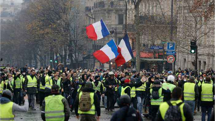 Hundreds Arrested In Paris Protests