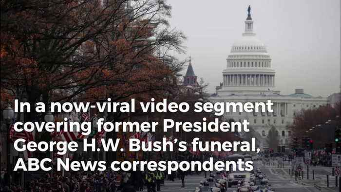Jaw-Dropping Video Catches ABC Panelists Fantasizing About Trump's Funeral During Bush Memorial
